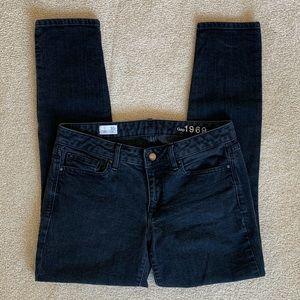 Gap Black Always Skinny Jeans Size 30 Regular